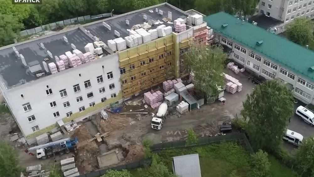 В Брянске построят хирургический корпус для коронавирусных пациентов