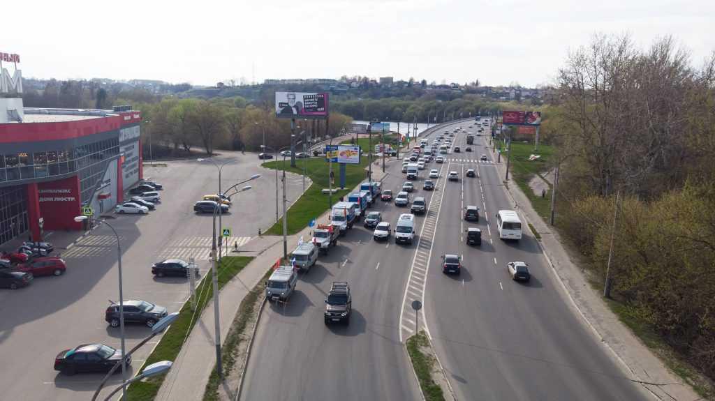 «Брянскэнерго» принял участие в автопробеге, посвященном 76-ой годовщине Победы