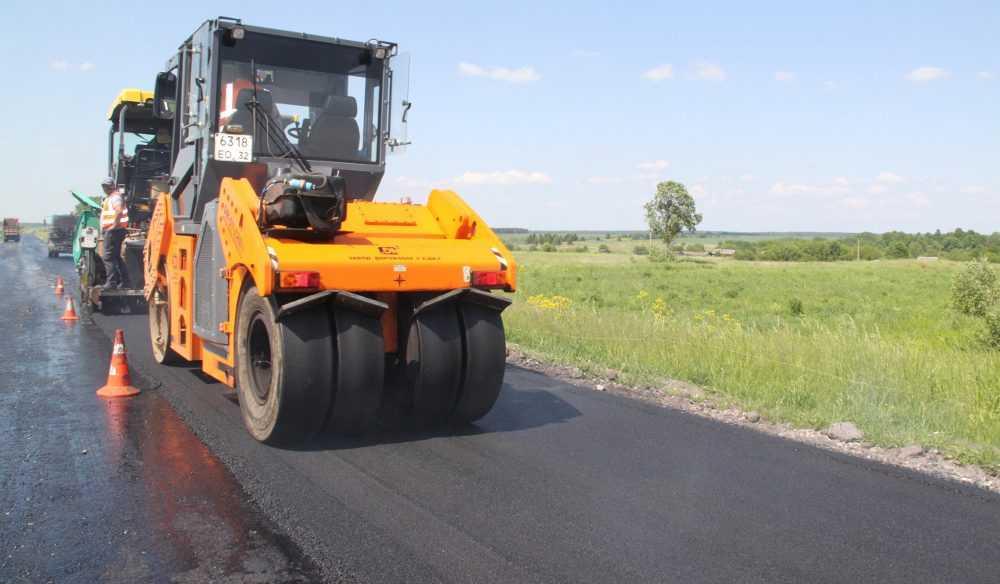 В Брянской области отремонтируют дорогу Комаричи – Севск