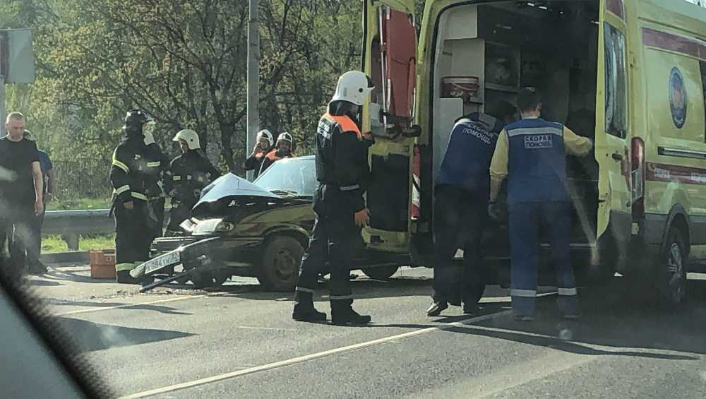 Под Брянском в столкновении двух легковушек возле Путевки пострадали люди