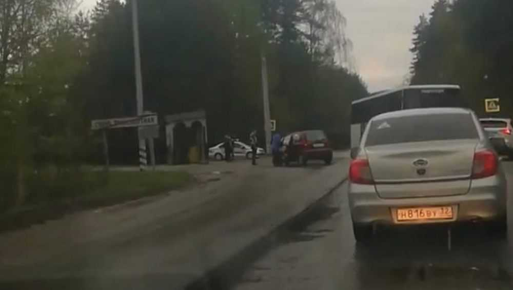 Под Брянском автобус «Мираторга» попал в ДТП