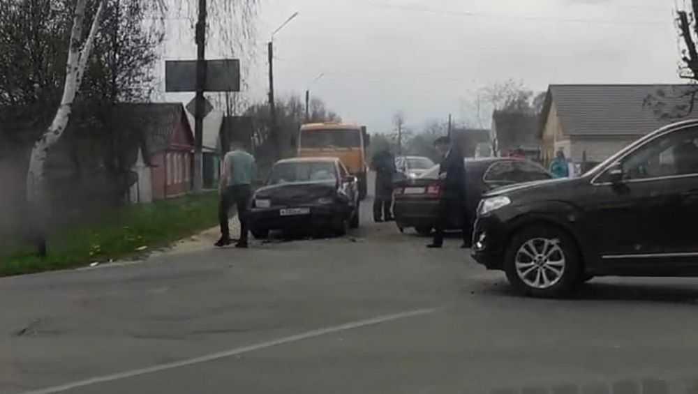 В Новозыбкове в столкновении автомобилей пострадал 9-летний пассажир