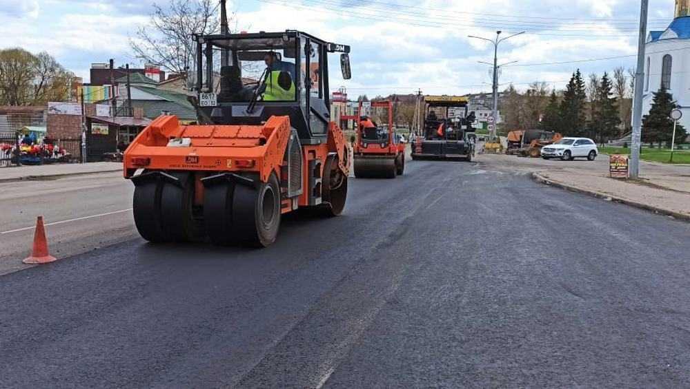 В Дятькове отремонтируют за 25 миллионов рублей дорогу на улице Ленина