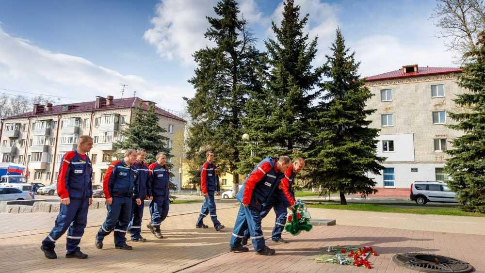 Брянскэнерго принял участие в автопробеге, посвященном 76-ой годовщине Победы