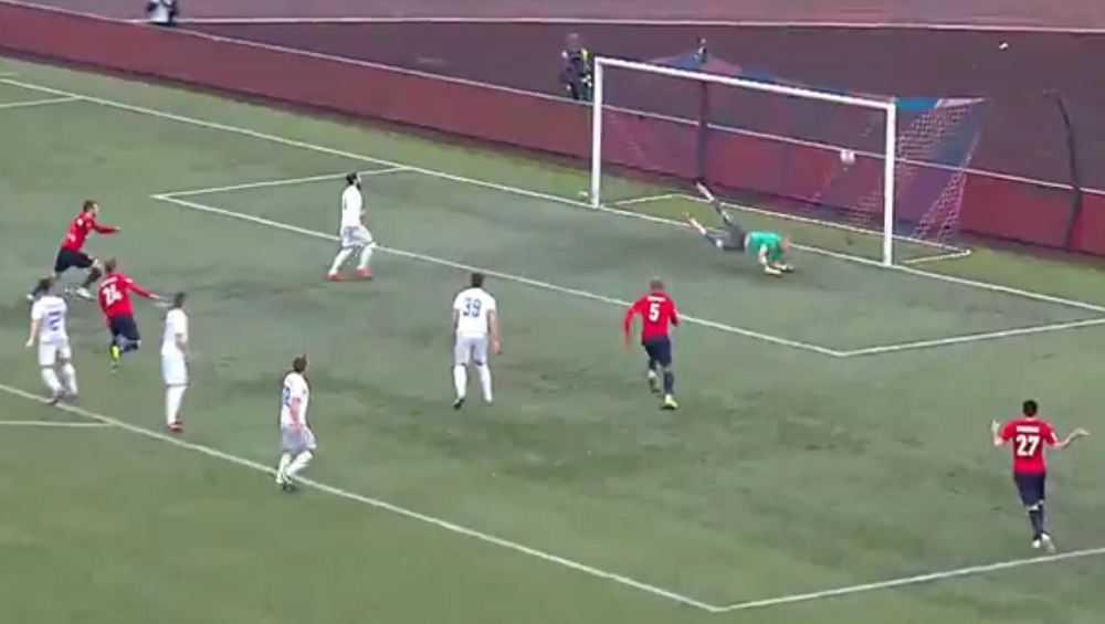 Футболисты брянского «Динамо» проиграли в Хабаровске со счетом 0:1