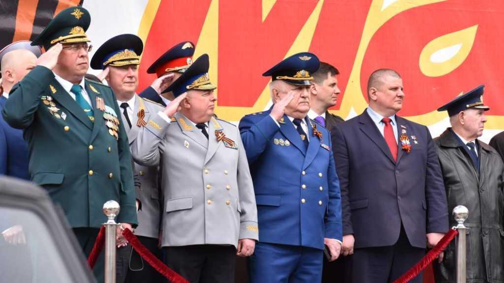 Брянские прокуроры приняли участие в торжественном марше в честь Дня Победы