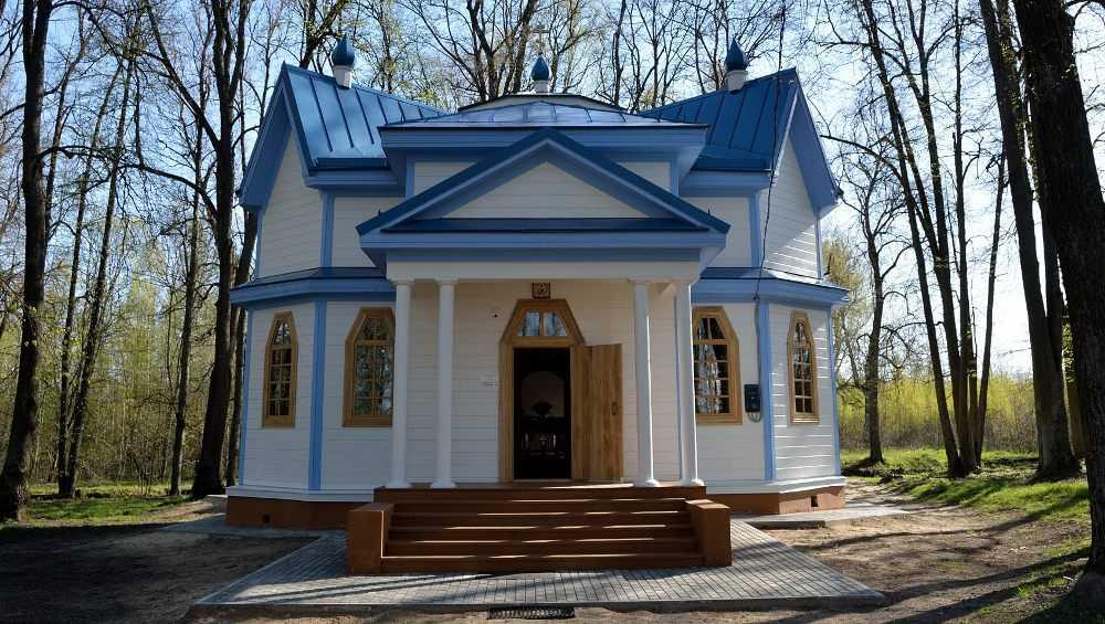 В Брянской области освятили восстановленный храм в селе Луговец