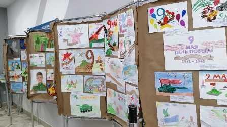 Около семидесяти детей энергетиков приняли участие в конкурсе рисунков, посвященному Дню Победы