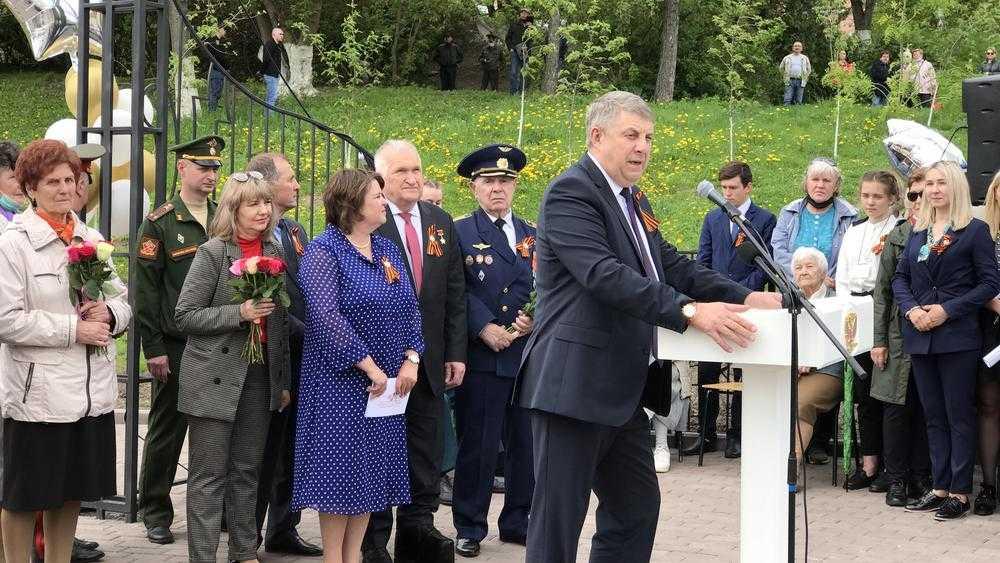 Педагога с 50-летним стажем впечатлили преображение Брянска и Сад Победы
