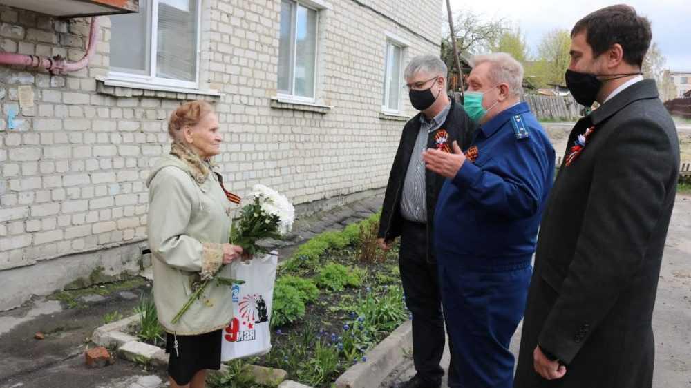 Брянские прокуроры принял участие в торжественном марше в честь Дня Победы