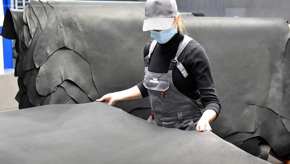 Губернаторы Брянской и Калужской областей осмотрели кожевенный завод