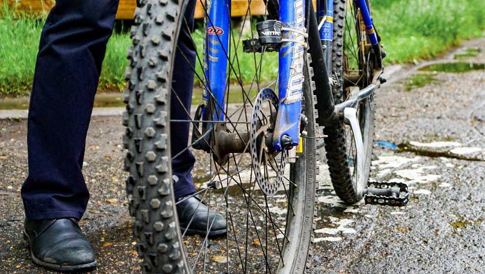 В Клетне старый уголовник позарился на чужой велосипед