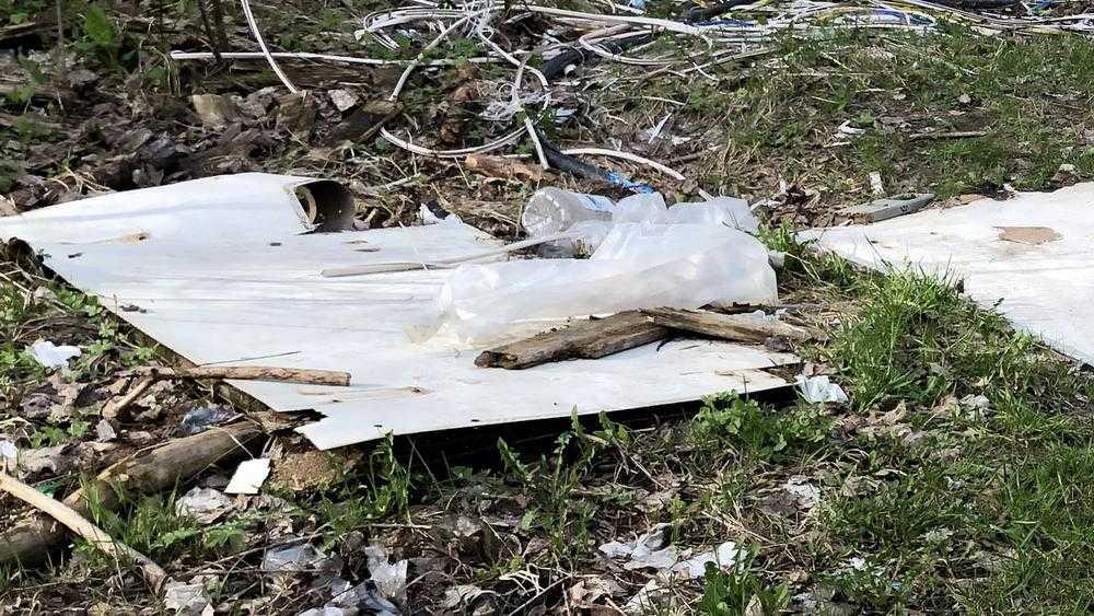 Жителей Клинцов возмутили горы мусора на Зубовском кладбище