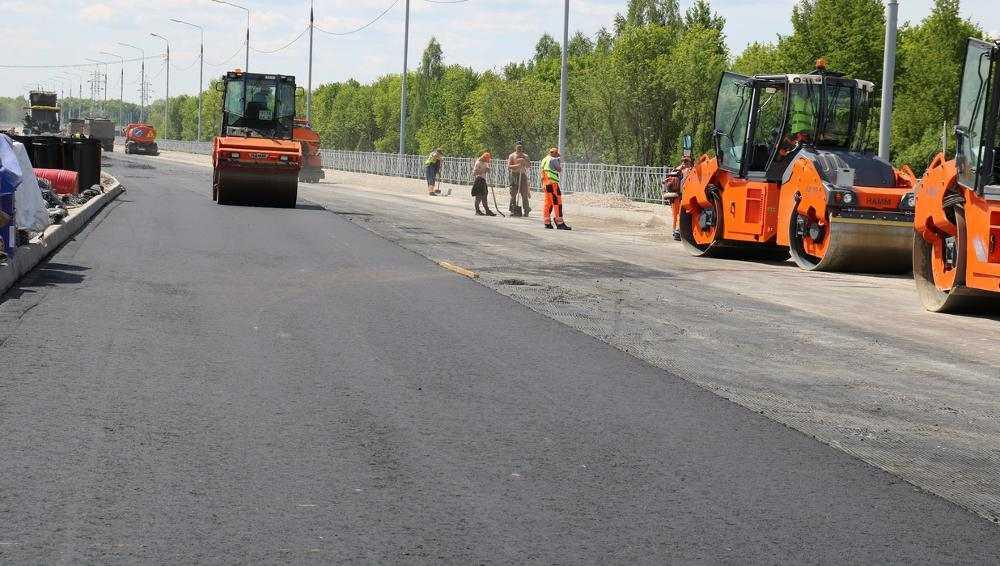На дороге Брянск-I – Брянск-II впервые в регионе применили «тощий» бетон