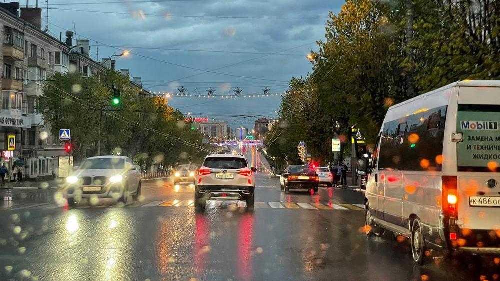 На Брянскую область в пятницу обрушился ливень с грозой