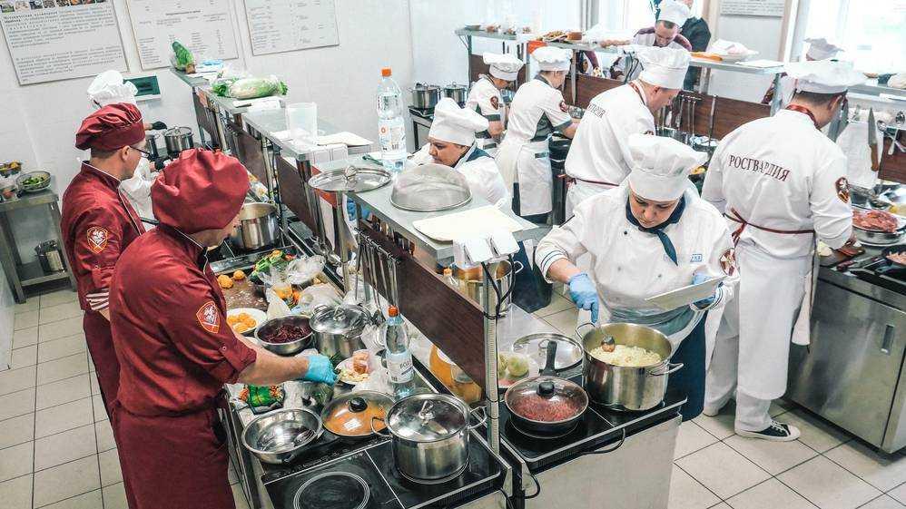 Брянские специалисты продовольственной службы Росгвардии приняли участие в конкурсе