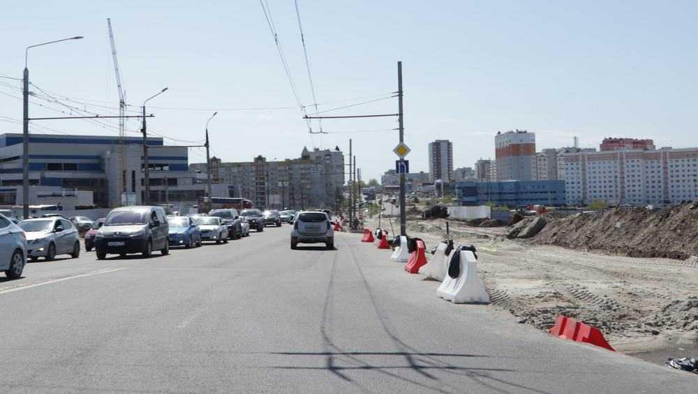 В Брянске дорогу на Объездной улице расширят с четырех до шести полос