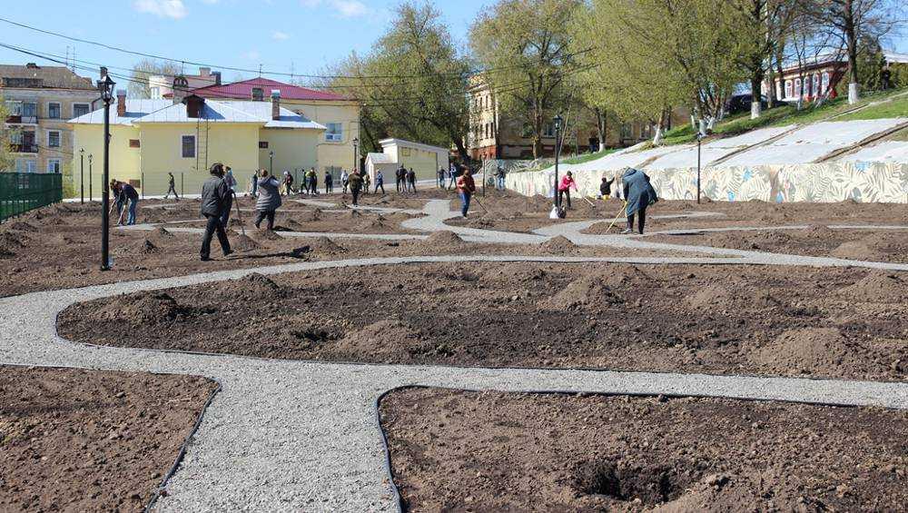 В Брянске Сад Победы взяли под надежную охрану