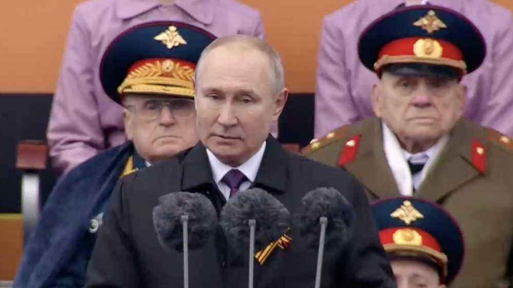 В Москве начался парад Победы