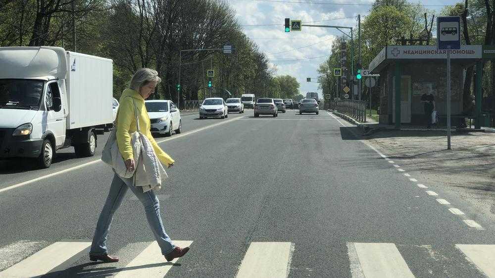 В Брянске на улице Брянского фронта закроют три нерегулируемых перехода