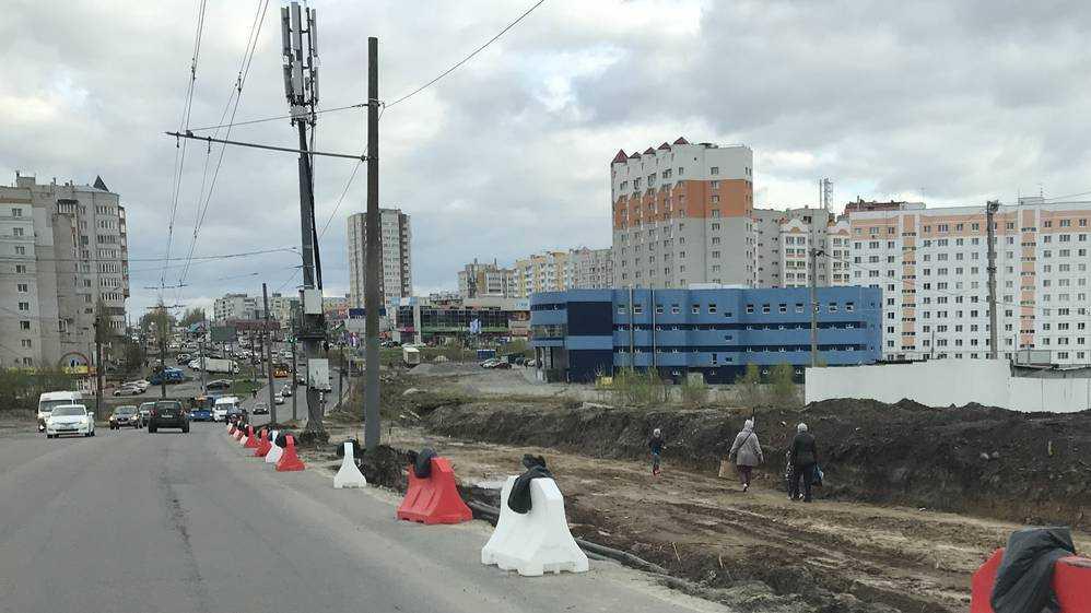 В Брянске из-за ремонта продлили ограничение движения по Объездной улице