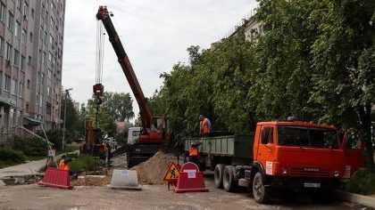 ВБрянске началось строительство ливневой канализации вБежицком районе