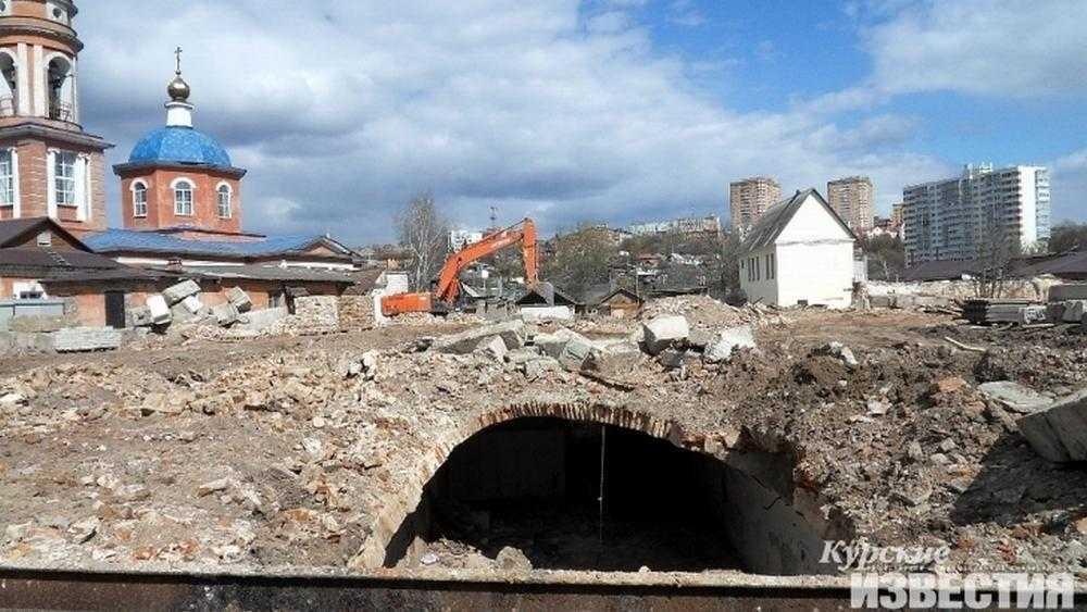 К винным погребам купца Мальцова в Курске решили закрыть доступ