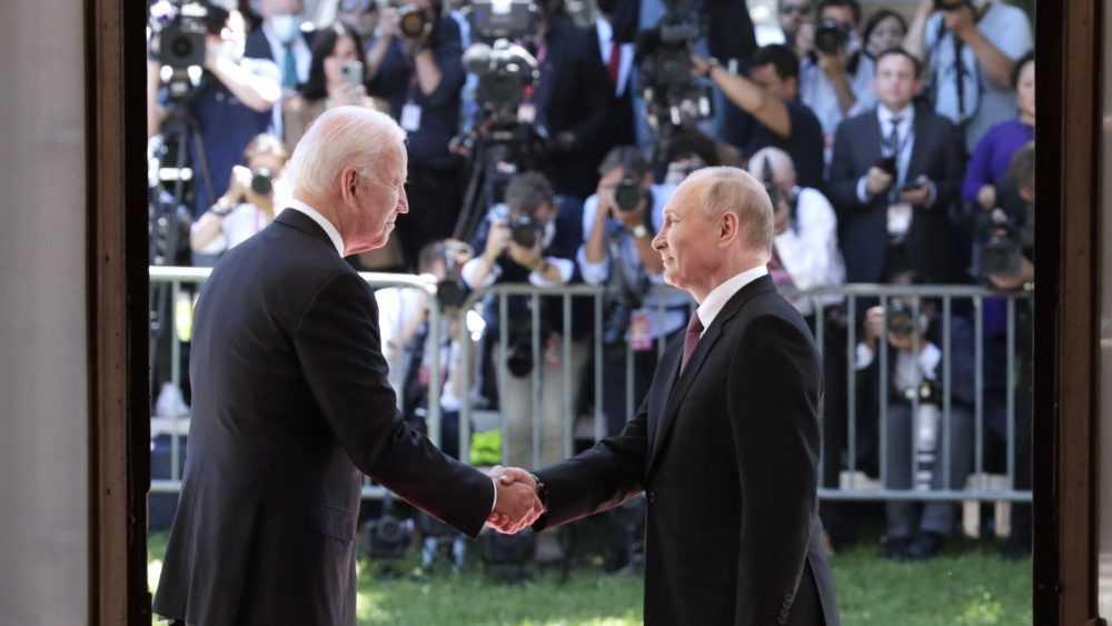 В Женеве завершилась встреча Путина и Байдена
