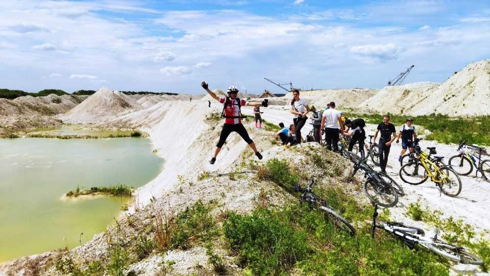 Брянские Мальдивы привлекли внимание велотуристов