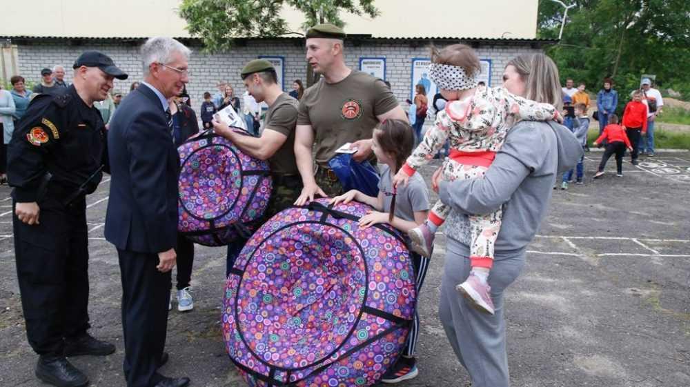 В Брянске состоялись мероприятия в связи с юбилеем спецназа «Торнадо»