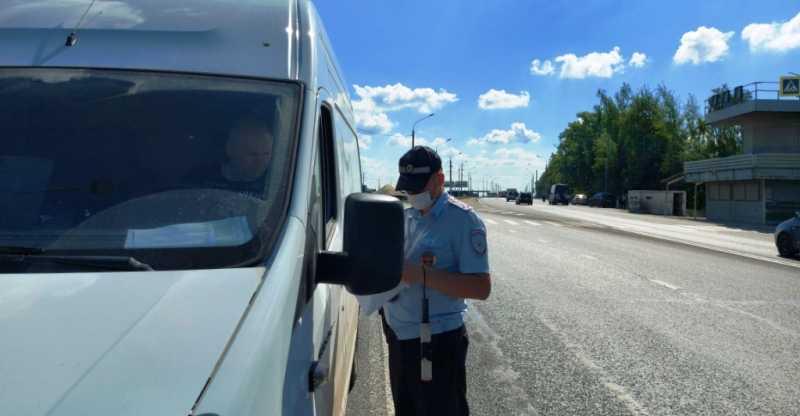 В Брянской области за 3 дня оштрафовали более 300 водителей автобусов