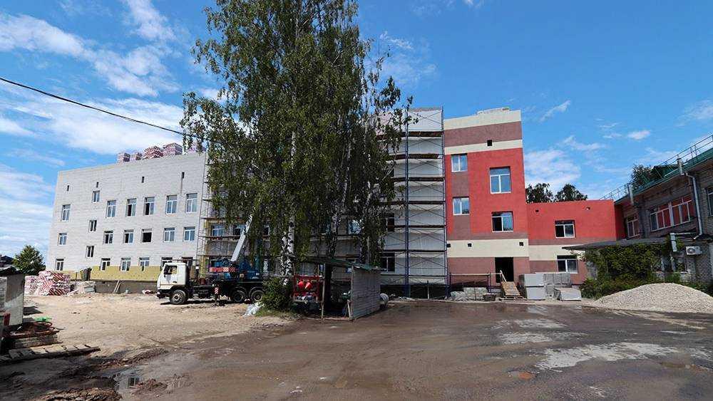 В Брянске новый корпус больницы №4 откроют к осени 2021 года