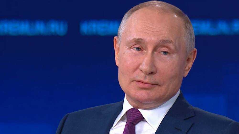 Президент Путин заявил, что коронавирус не придумали главы государств