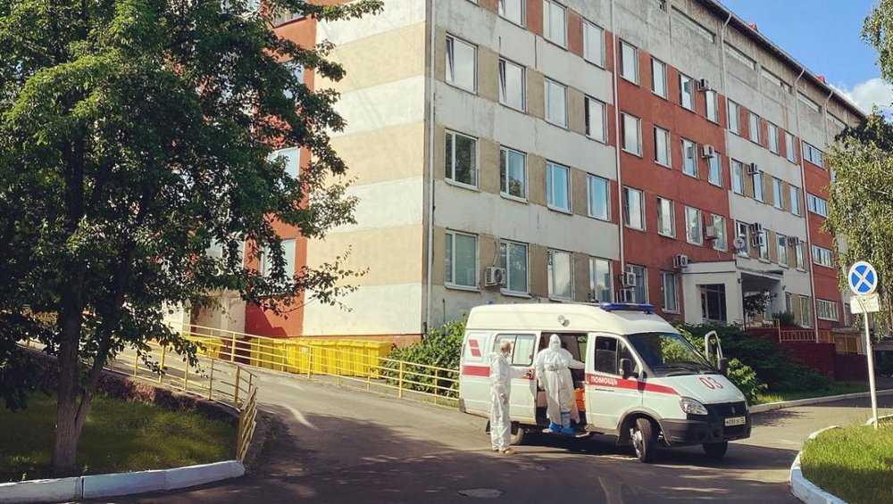В брянской больнице № 2 вновь заработал госпиталь для пациентов с COVID