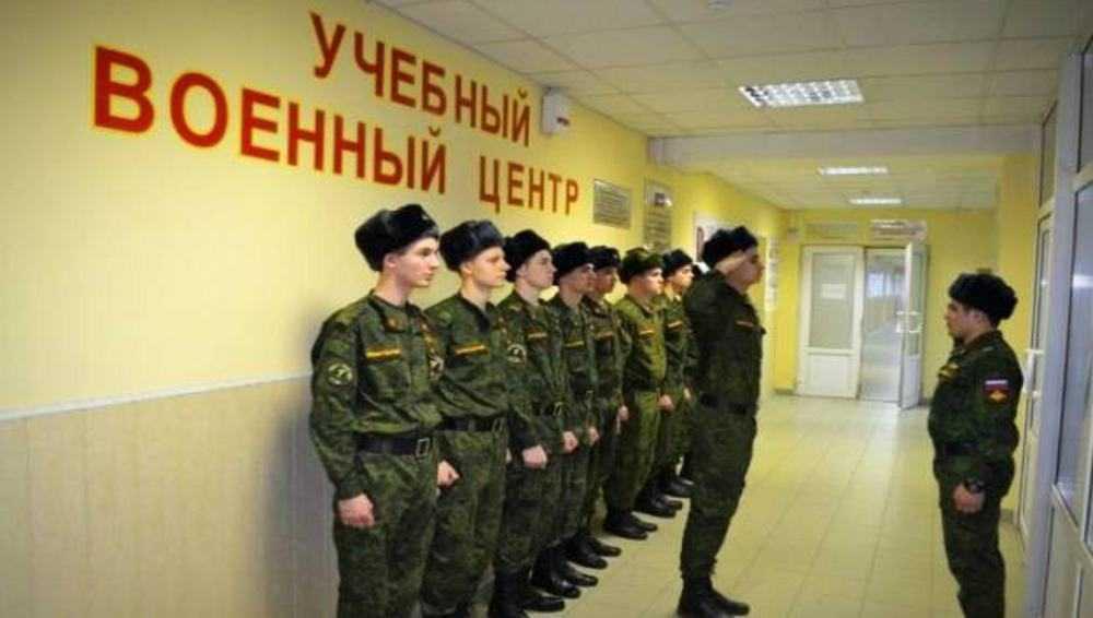 В Брянске на базе БГИТУ в 2022 году откроют военный учебный центр