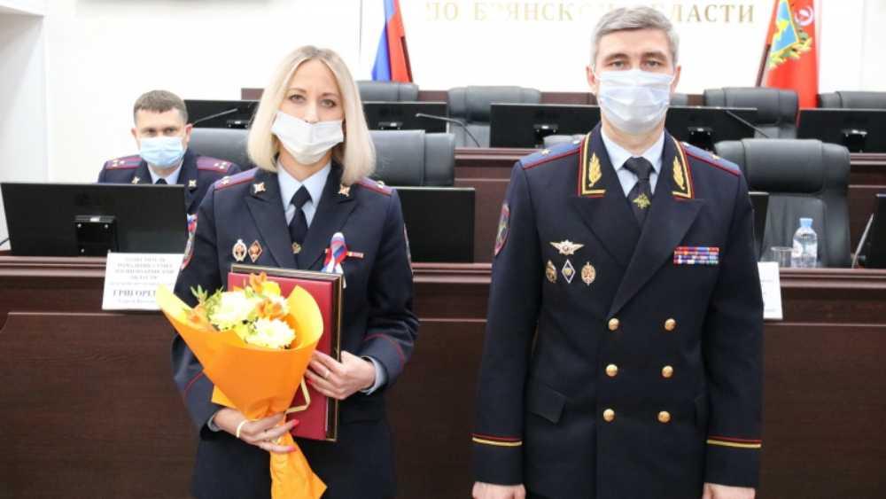 Главным дознавателем брянского УМВД стала Татьяна Долбенько