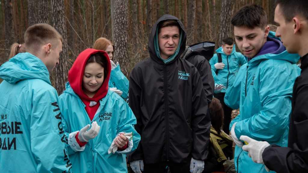 Партия «Новые люди» помогает восстанавливать брянские леса