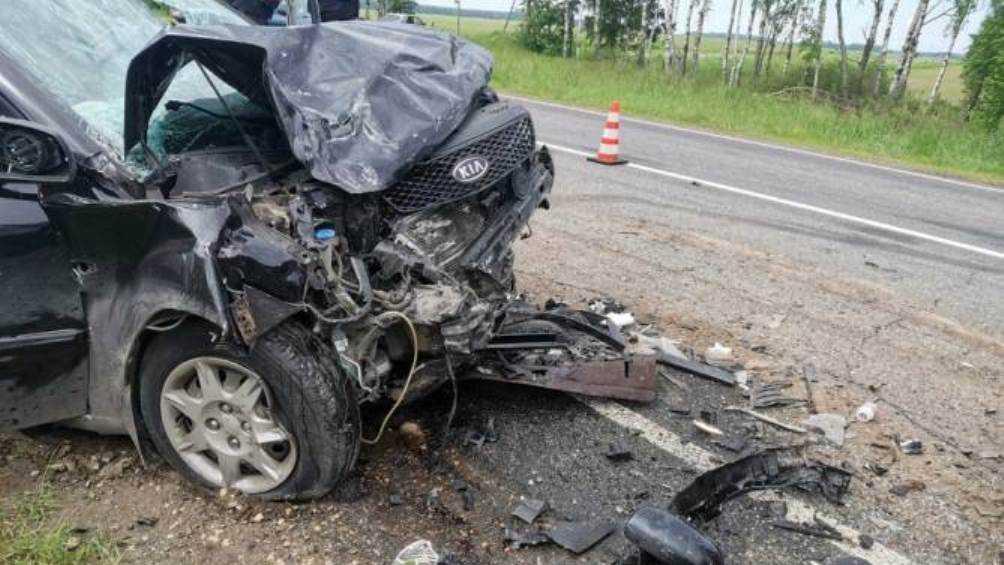 Под Климовом Брянской области в ДТП погиб водитель и ранены двое детей