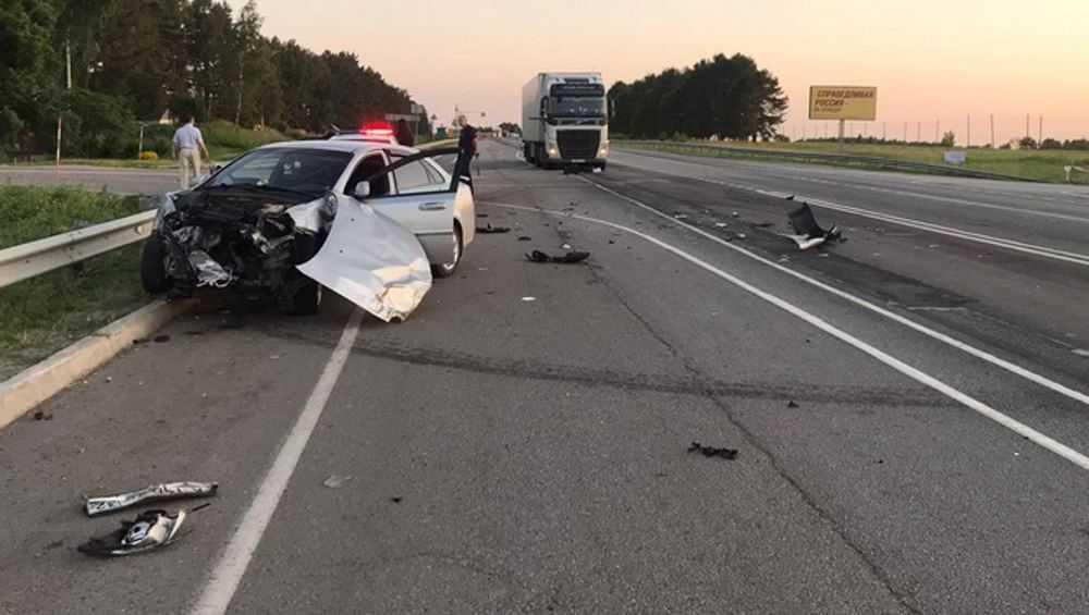 Едва не погубивший своего ребенка брянский водитель после ДТП выпил алкоголь