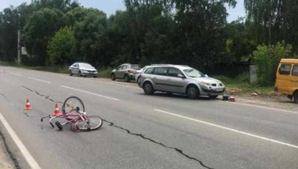 В больнице скончался сбитый в Брянске на Литейной улице 46-летний велосипедист