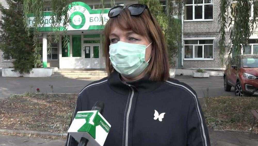 В Брянске главврач городской больницы № 4 Хандожко призвала всех вакцинироваться