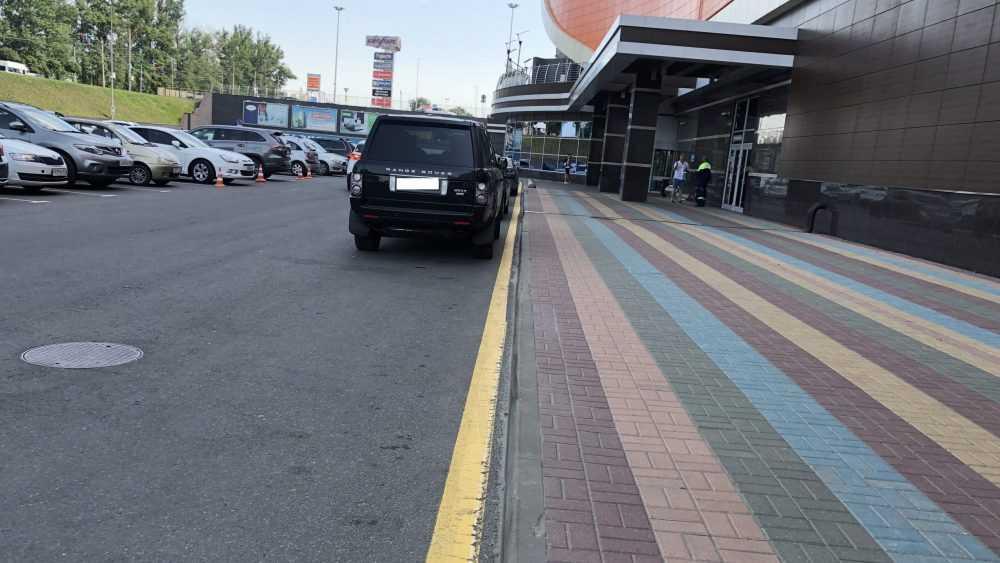 аэропарк парковка