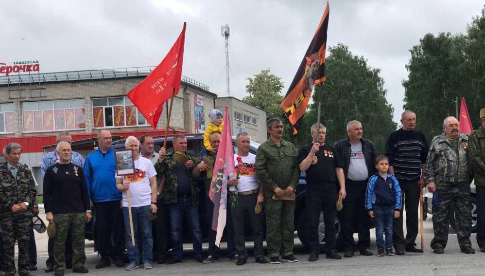 В Локте Брянской области 12 июня отметили День советских войск в Германии