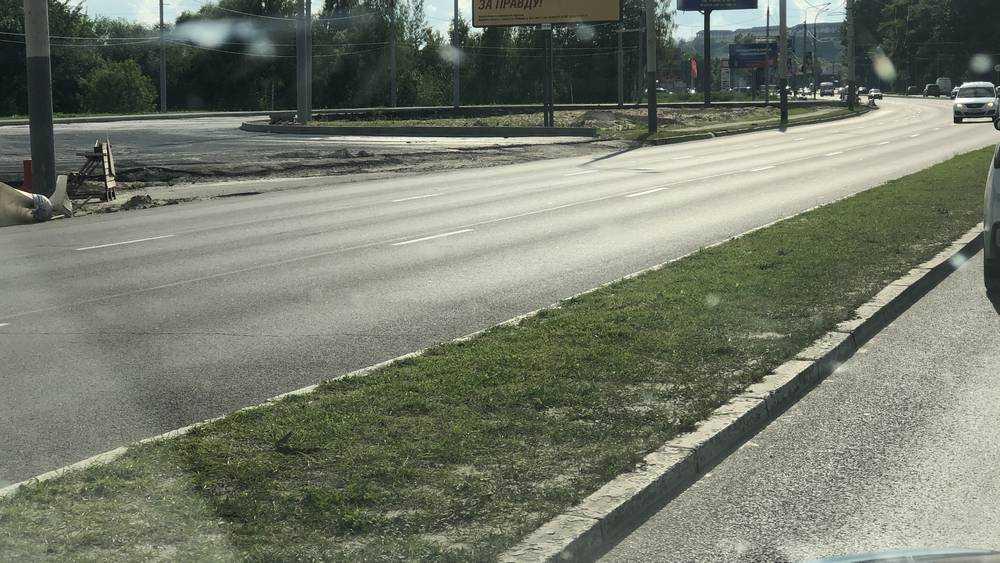 В Брянске строительство кольца на Московском проспекте вызовет пробки
