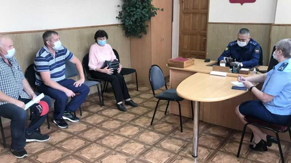 На приеме к зампрокурора Брянской области Доржиеву обратились 20 граждан