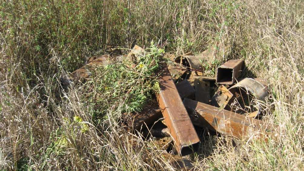 Под Брянском троих мужчин задержали за кражу 725 кг лома с грузового поезда