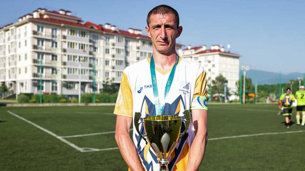 Футбольная команда БМЗ выиграла кубок корпоративной лиги в Сочи