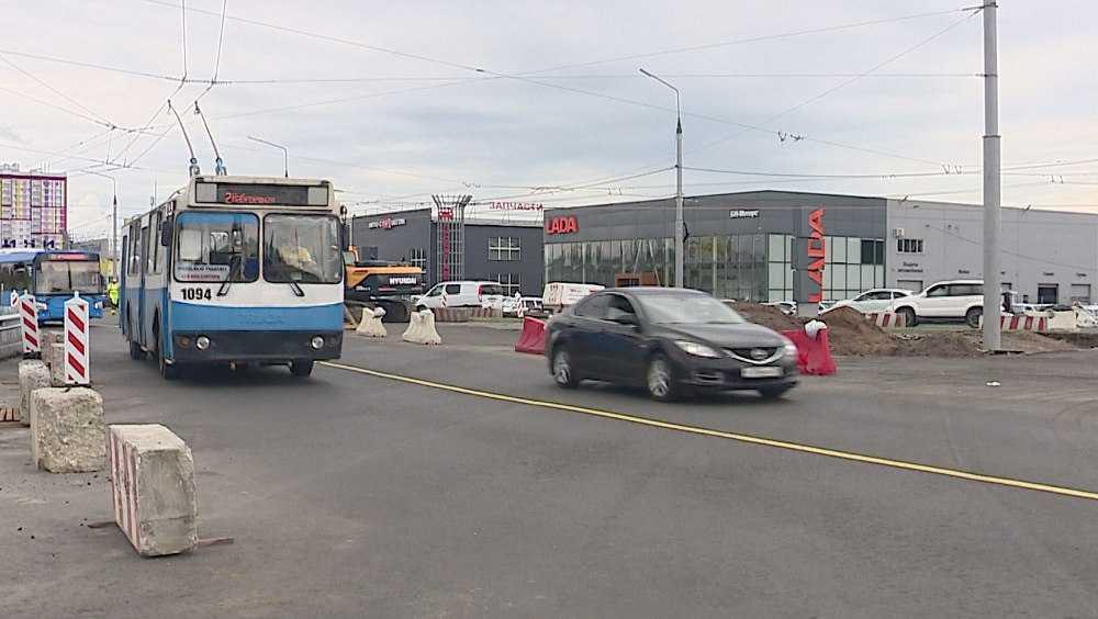 В Брянске открылось движение на кольцевой развязке в Фокинском районе