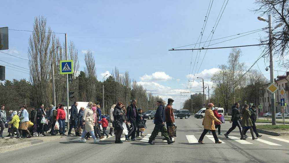 В Брянске ГИБДД попросила установить заборы вдоль Московского проспекта