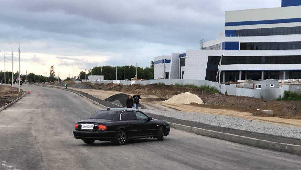 Ловушки для автомобилистов появились на улице Объездной в Брянске